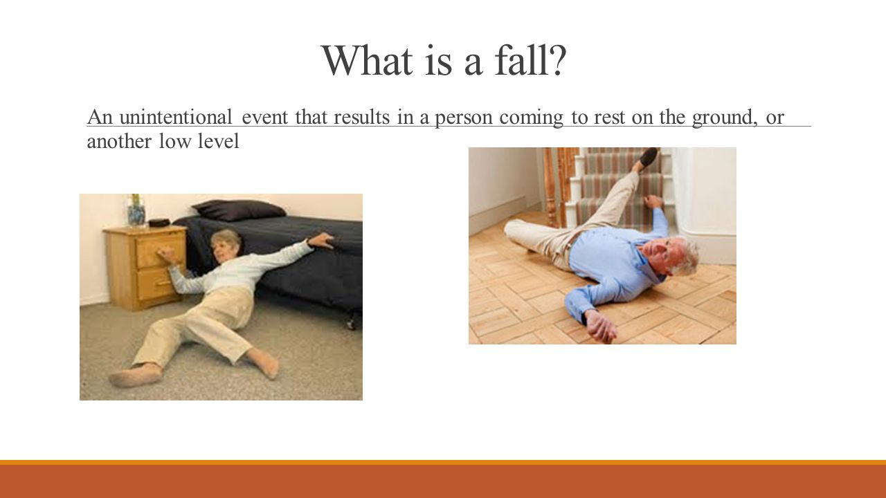 What is a fall.