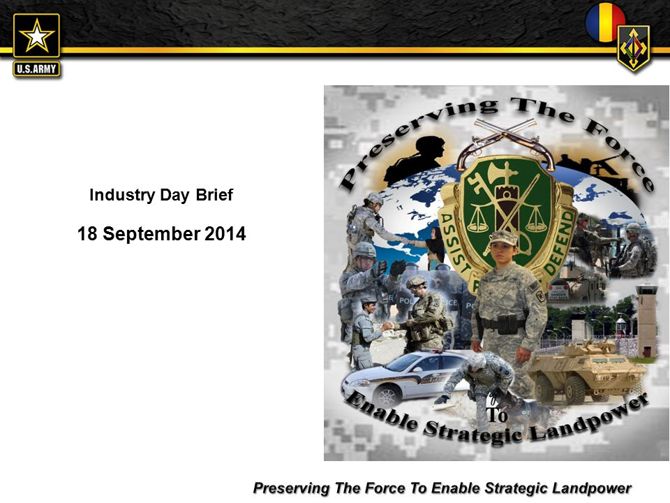 For Official Use Only Industry Day Brief 18 September Ppt Download