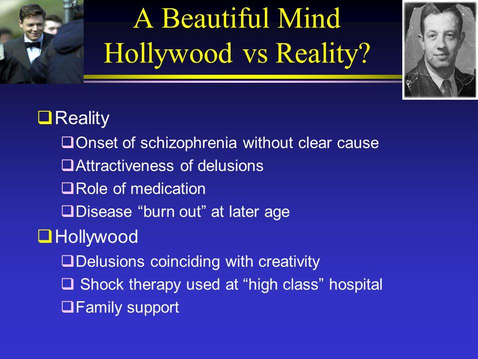 a beautiful mind schizophrenia symptoms