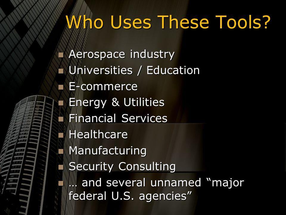 Commercial Attack Tools Team BAM! Scott Amack, Everett Bloch