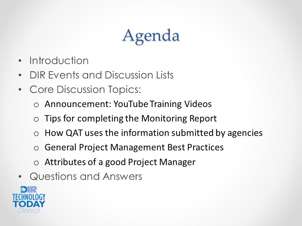 Project Management Best Practices and Producing Quality Deliverables