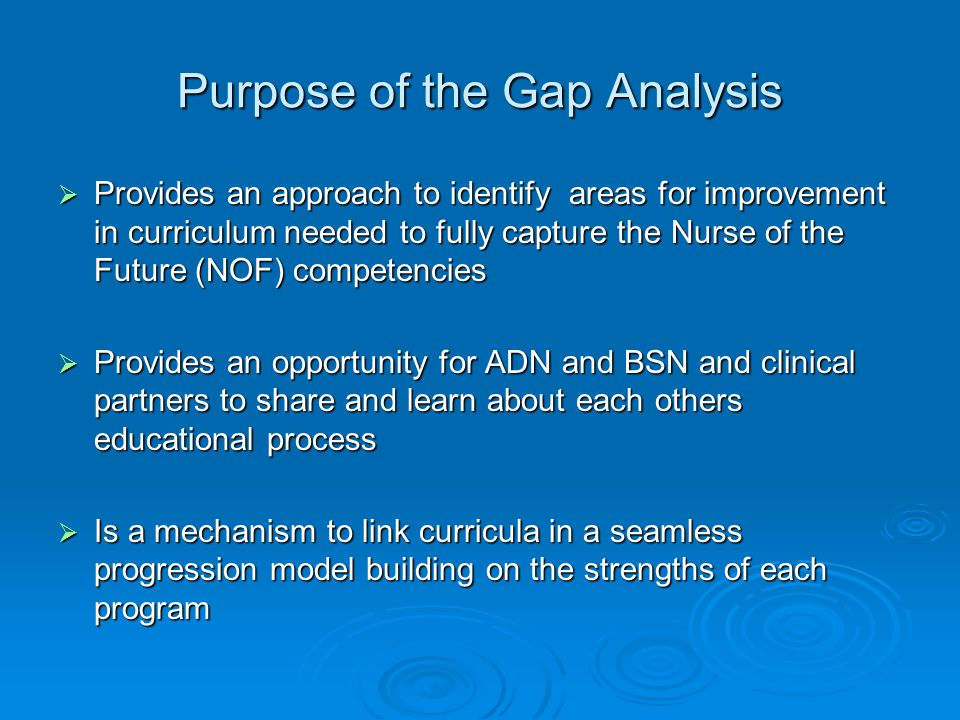 competency differences between adn and bsn