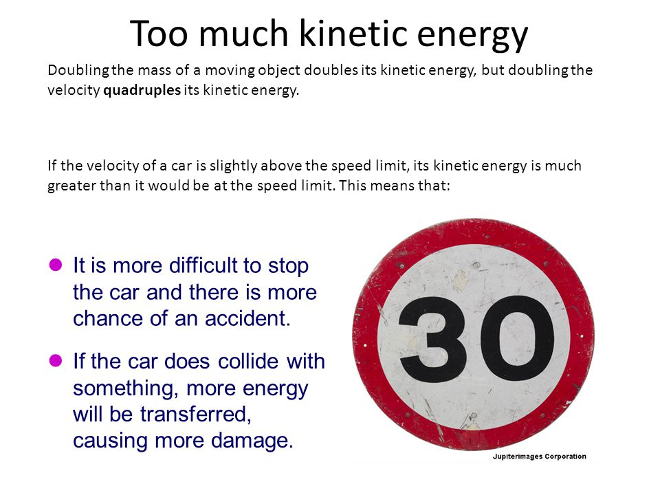 What Factors Affect The Kinetic Energy Of A Moving Object Ppt