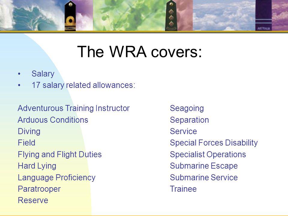 ADF Workplace Remuneration Arrangement (WRA) 2011 – 14 ADF