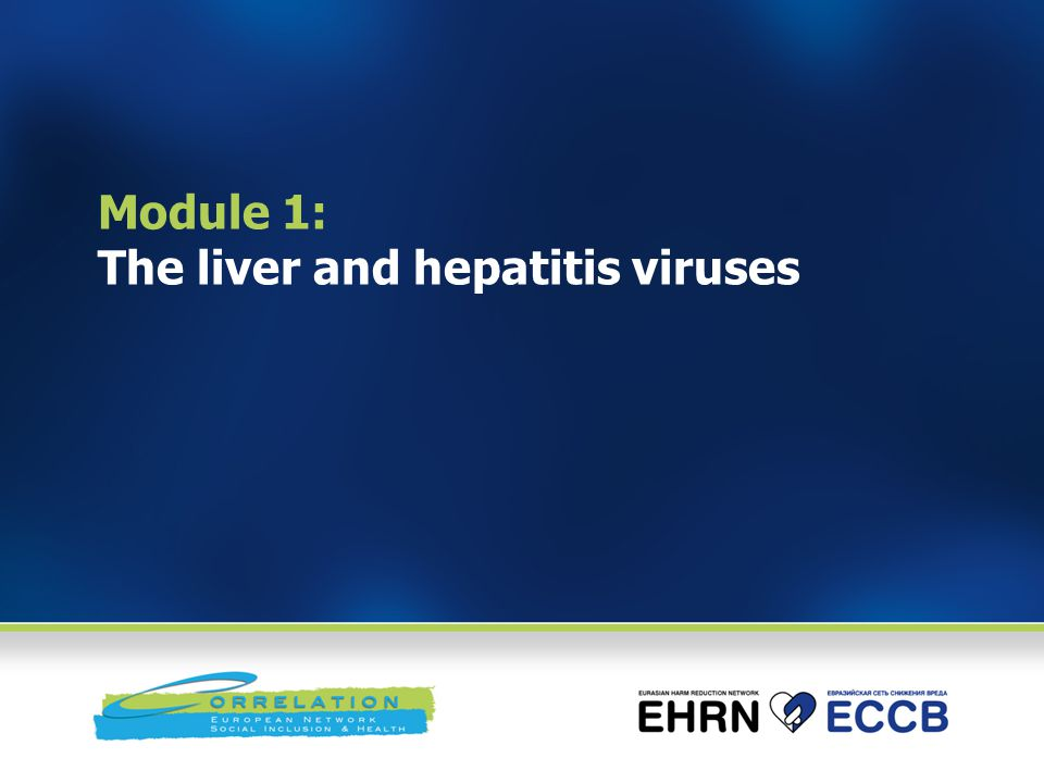 Module 1: The liver and hepatitis viruses