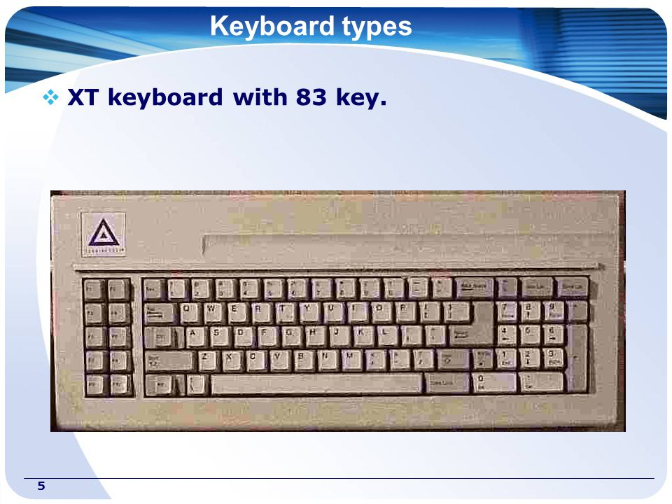 1 KEYBOARD  2 Structure  Is standard input device