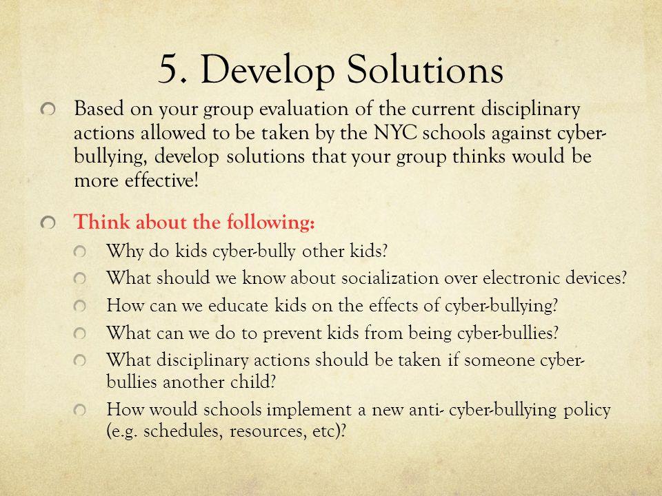 Cyber Bullying Public Policy Analysis Stephanie Vaughan Albert