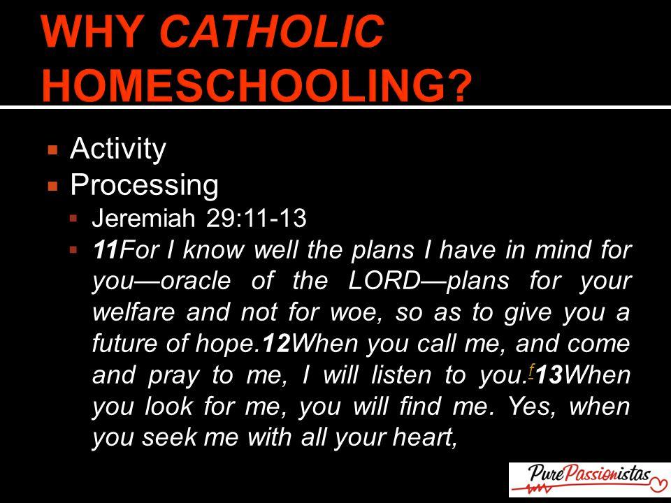 jeremiah 29 11 catholic