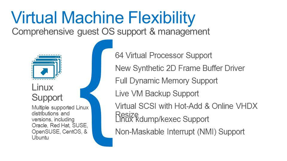 Scalability & Performanc e Security & Multitenanc y Flexible