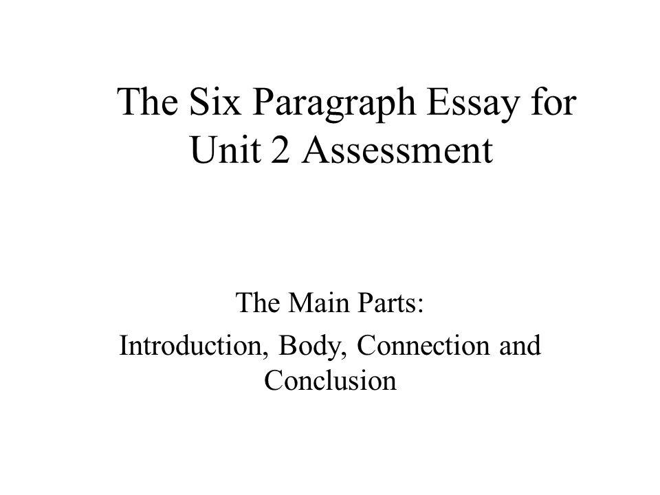 essay body parts
