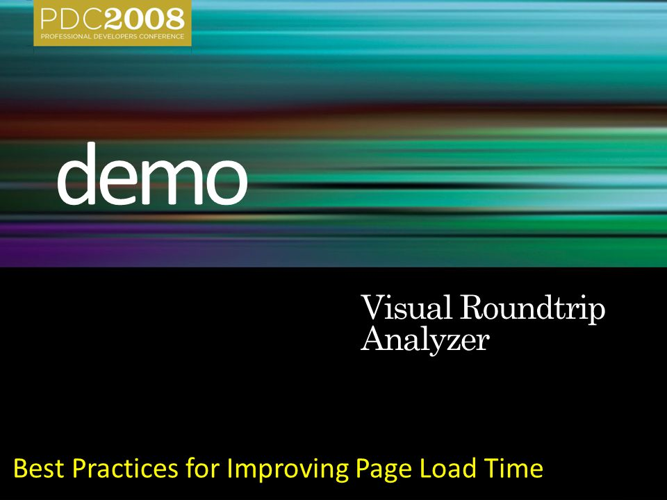 Best Practices for Improving Page Load Time