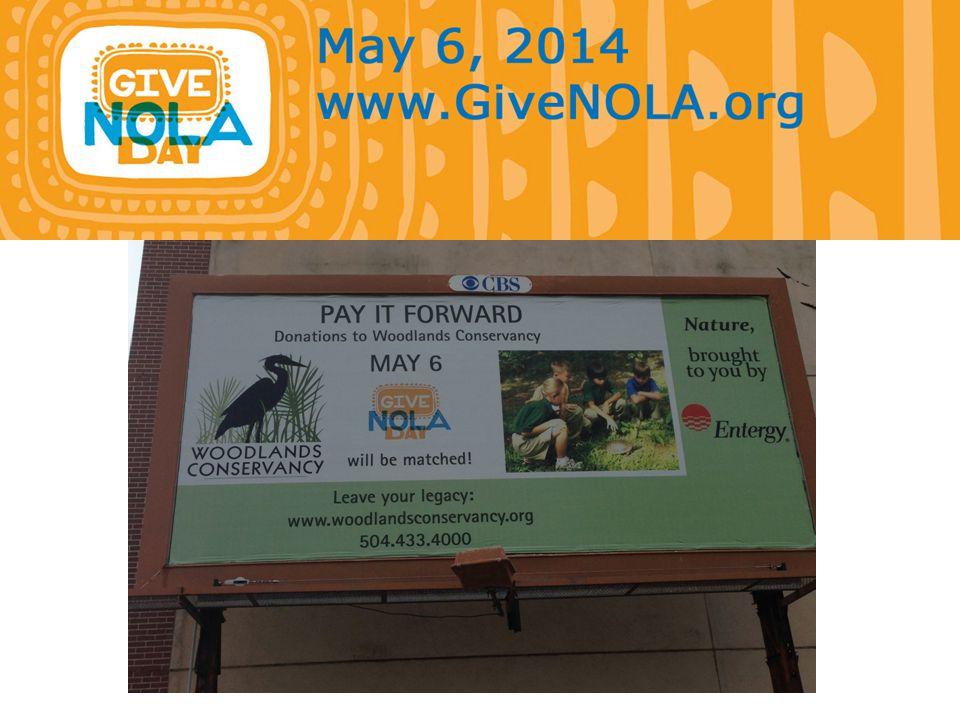 Nonprofit Workshop Ready-Set-Go-GiveNOLA  What is GiveNOLA