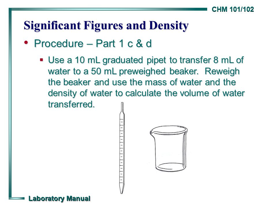 Chm 101102 Laboratory Manual Significant Ures And Density. Worksheet. Chem Skills Worksheet Significant Figures Calculations At Clickcart.co