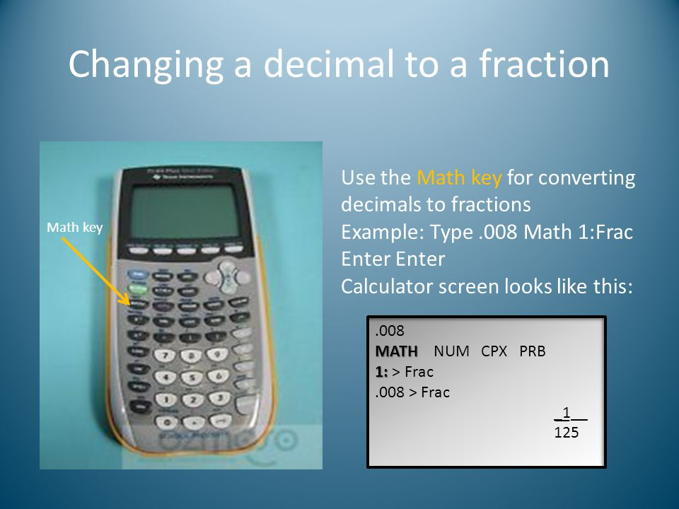 Graphing calculator basics Helpful tips for using the TI-84 graphing ...