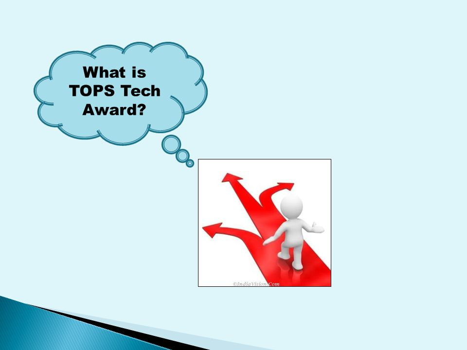 What is TOPS Tech Award