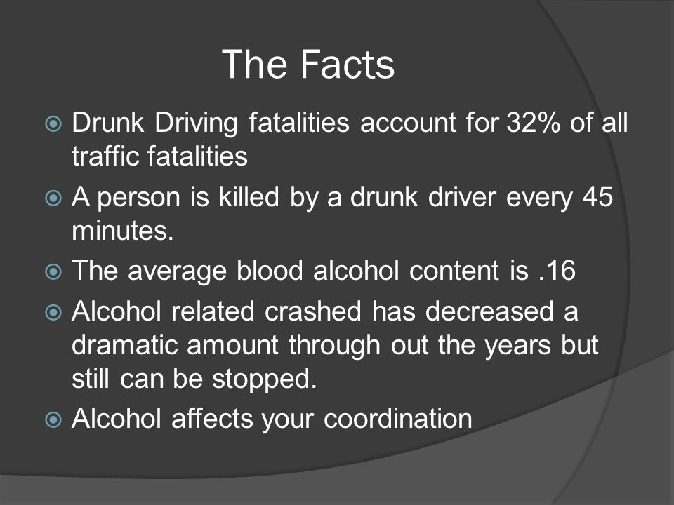 how to prevent drunk driving essay