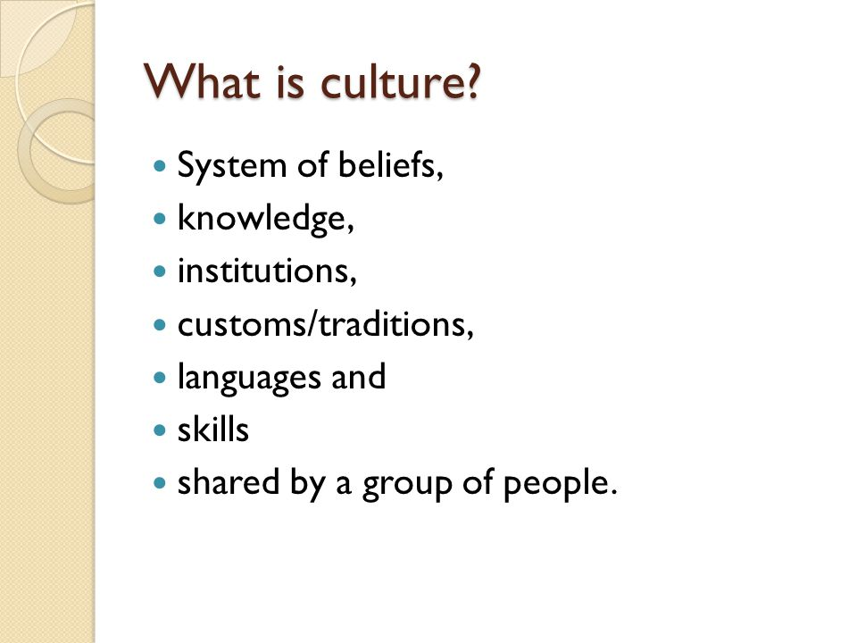 Ancient Egypt World Cultures 7  What is culture? System of beliefs