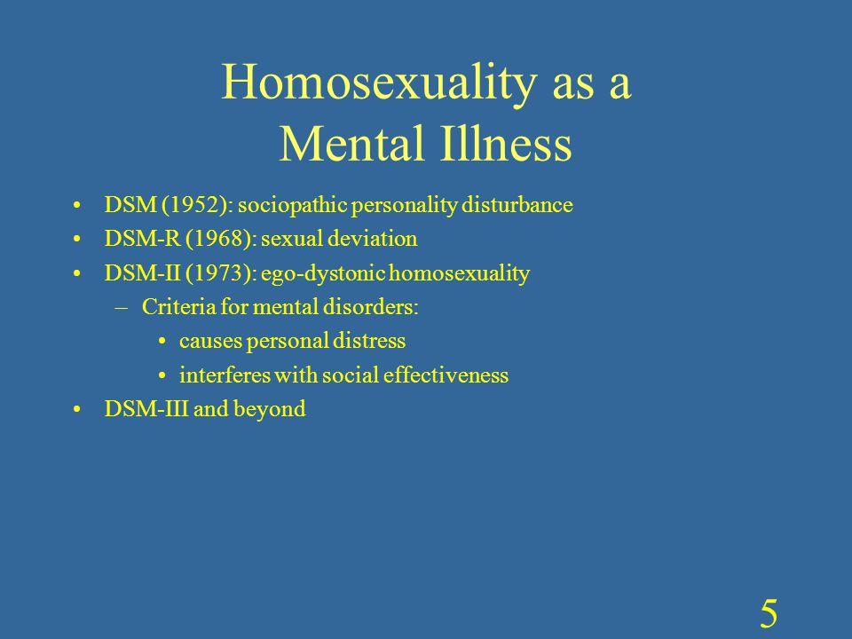 Homosexual egodistonica