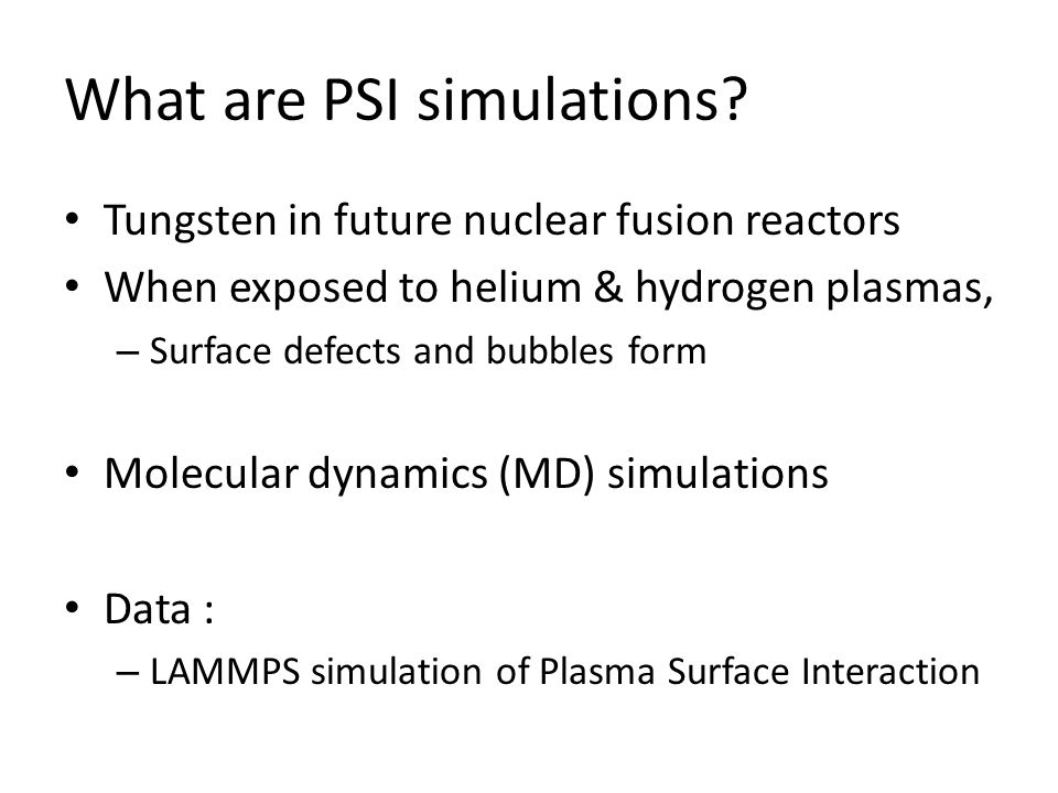 In-situ Visualization and Analysis of Plasma Surface Interaction