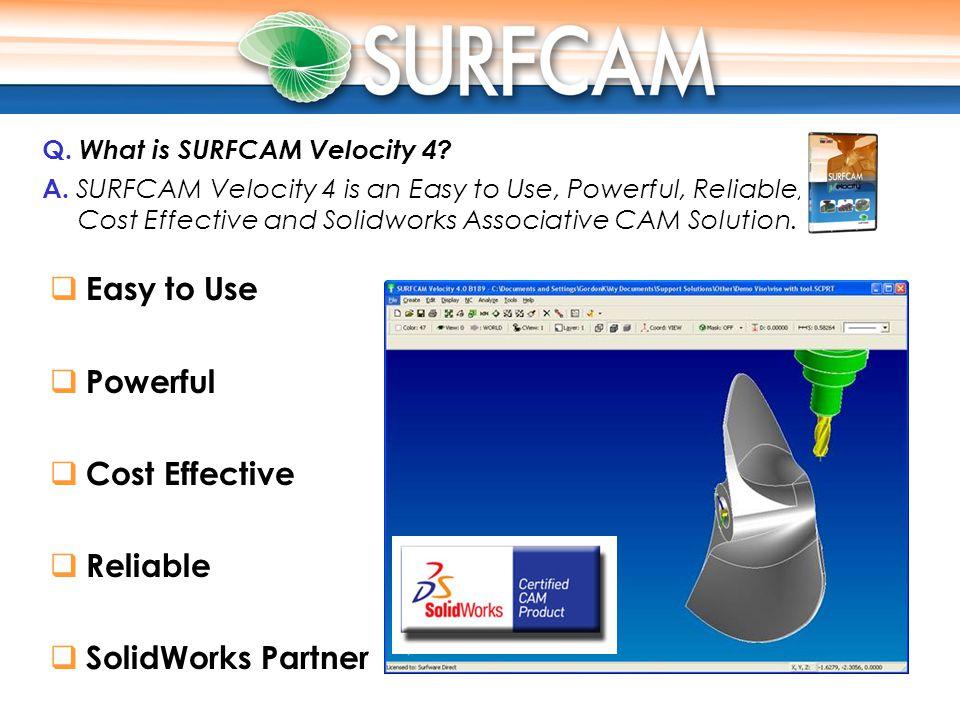 Surfware SurfCAM Velocity 4.0 (B189) 1