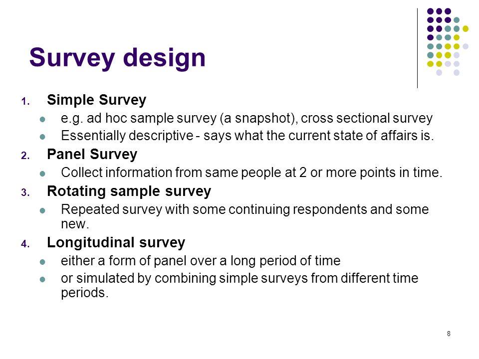 1 social research methods surveys 2 survey characteristics