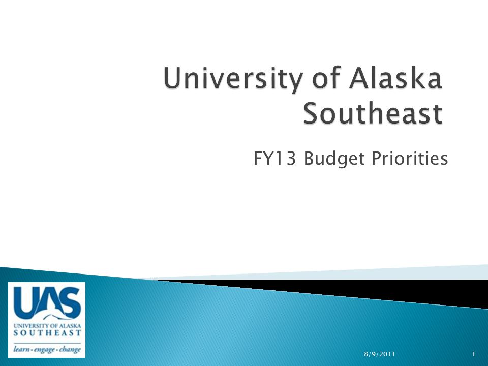 FY13 Budget Priorities 8/9/20111