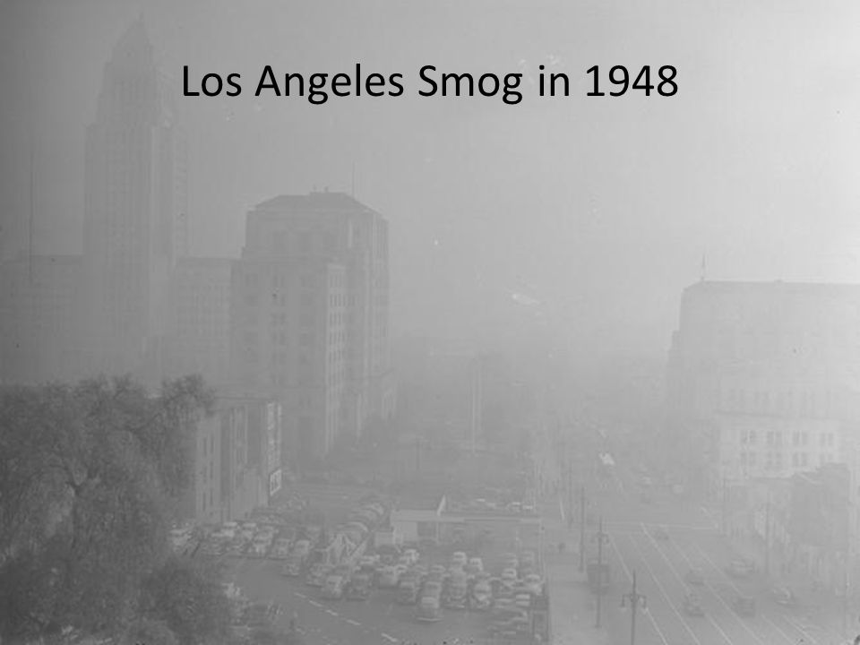 Los Angeles Smog in 1948