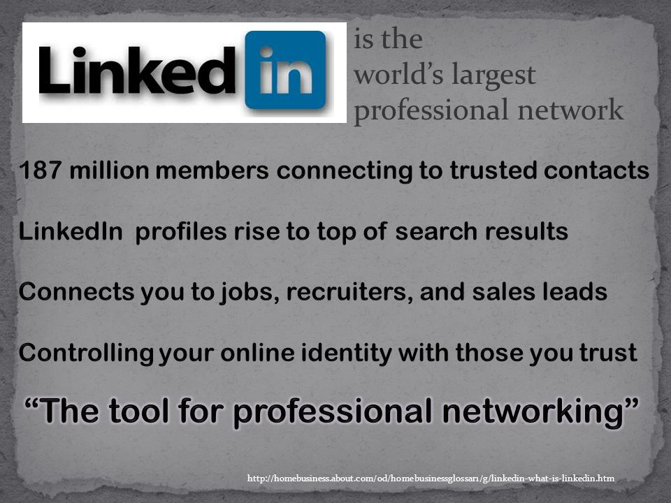 is the world's largest professional network