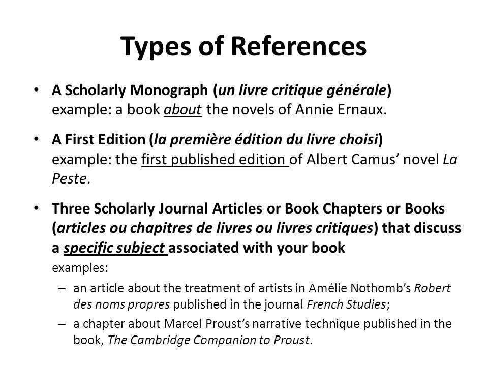 scholarly critique