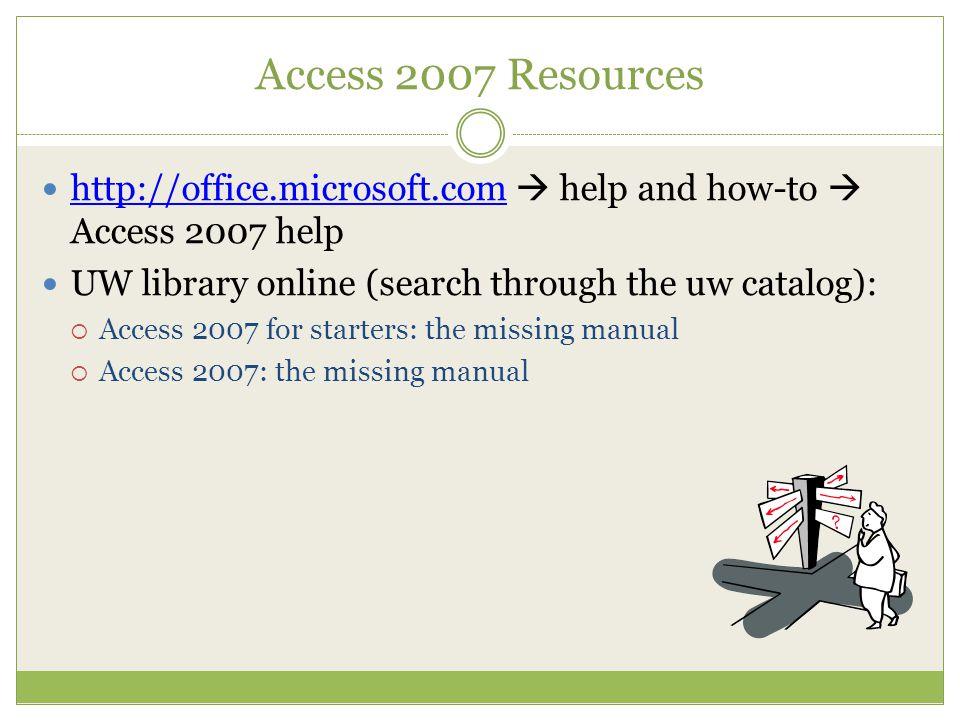 melissa pico summer 08 data storage retrieval access instead of rh slideplayer com Access 2007 Icon Access 2007 Tutorials
