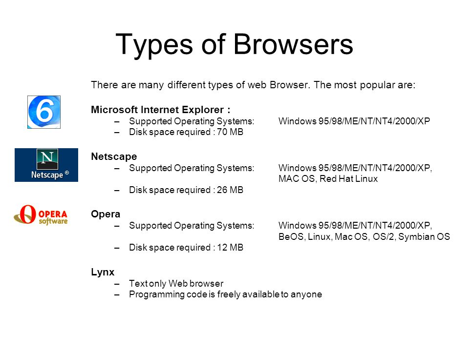 Chap 9 Internet Tools Web Browser –How a web browser works –Types of