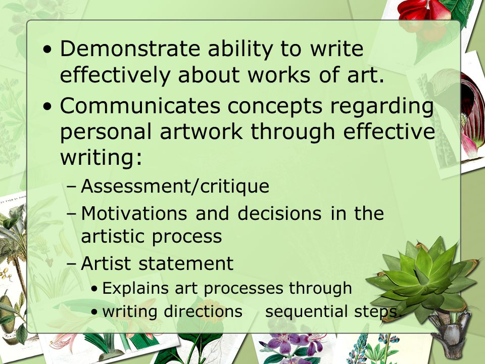 Visual Art and Design INTRODUCTION OVERVIEW INTRODUCTION OVERVIEW