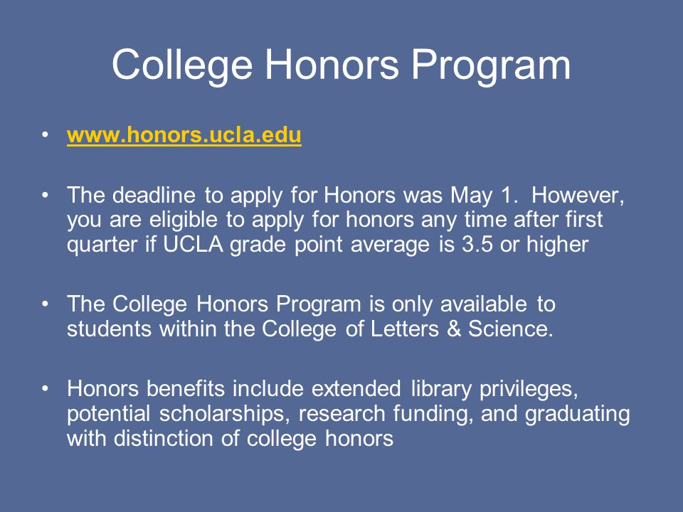 bu honors program essay Essay guide essay: in 500 to 600 words, write about one of the topics below an essay can tell us things about you beyond your academic background of grades, test scores, and courses taken in high school and/or college.