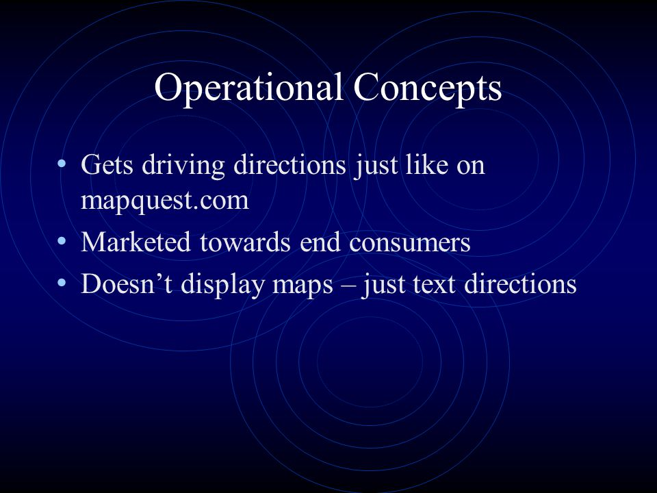Driving Directions via Mapquest Get directions from anywhere to ...