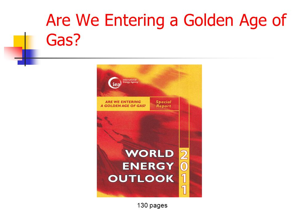 Are We Entering a Golden Age of Gas 130 pages