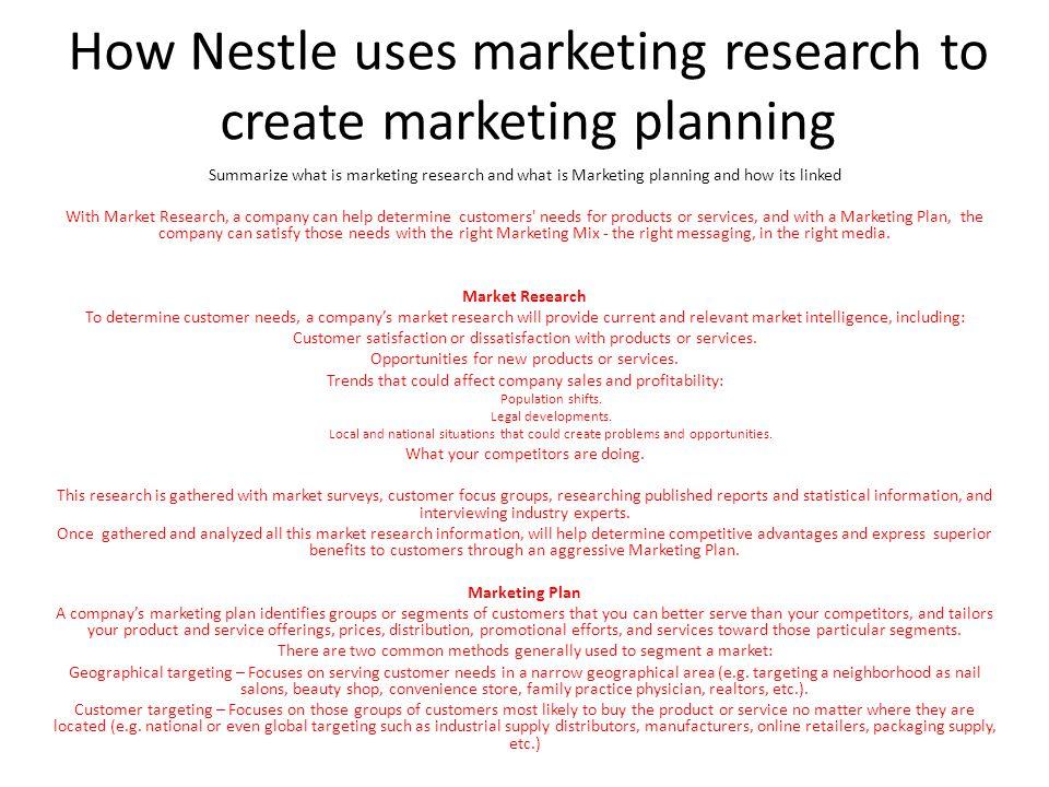 advantages of nestle
