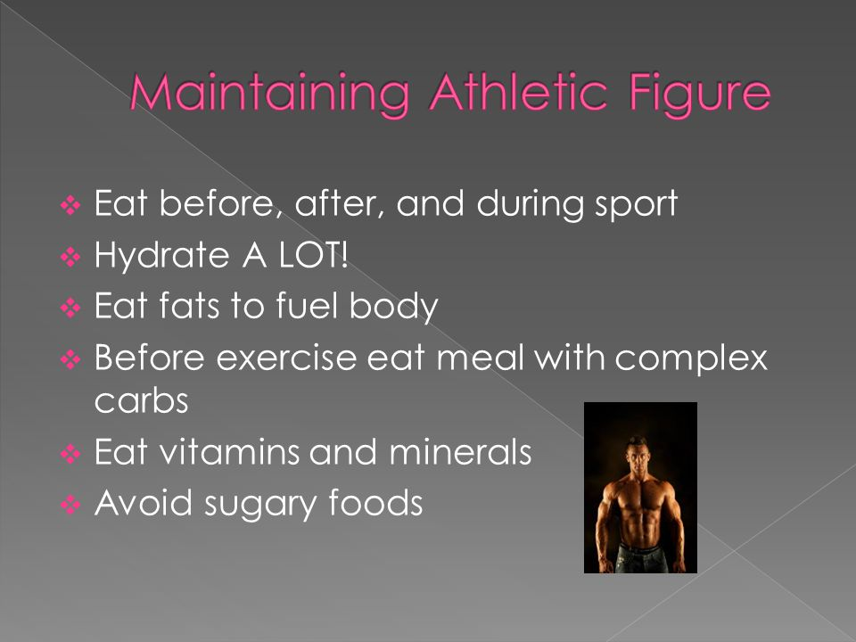 Ppromotion Of Nutrition To Athletes To Enhance Their Performance
