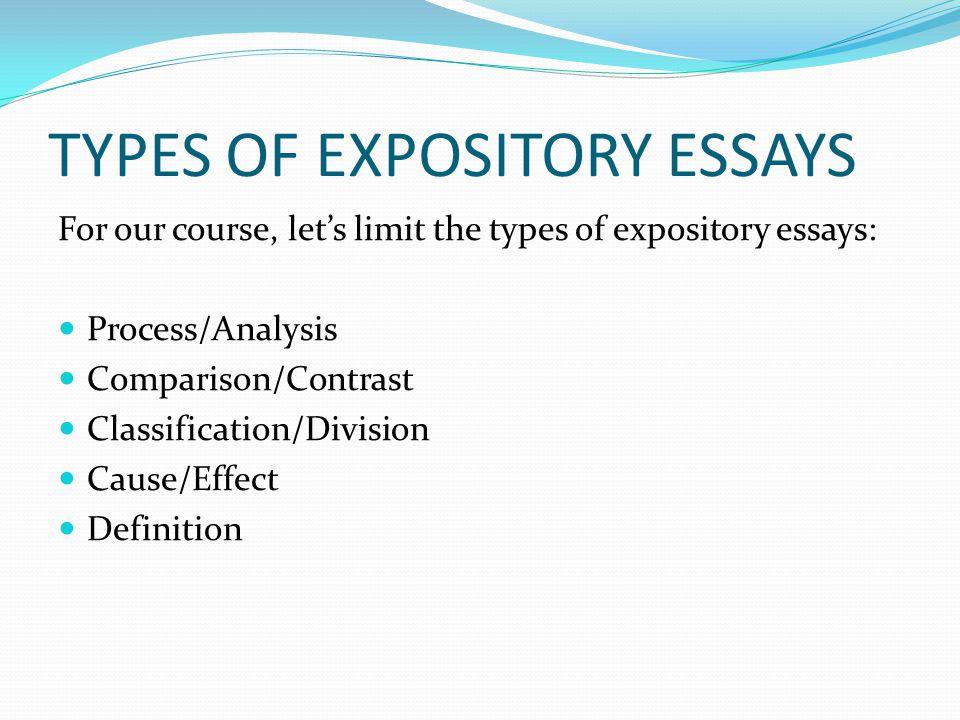 essay explaining a process