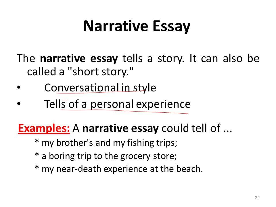 Narrative essay definition and examples narrative essay