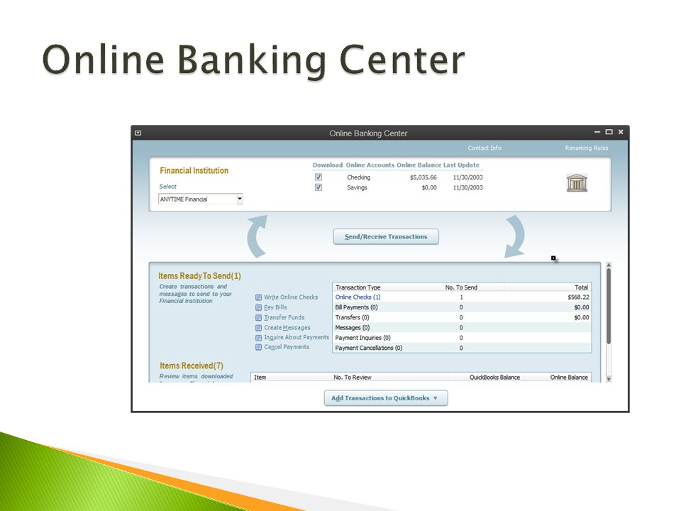 2013 reconcile your checking account create bank
