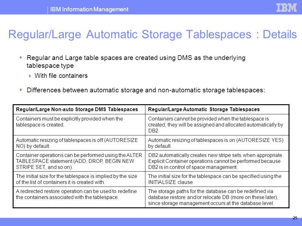 IBM Information Management © 2006 IBM Corporation DB2 Automatic