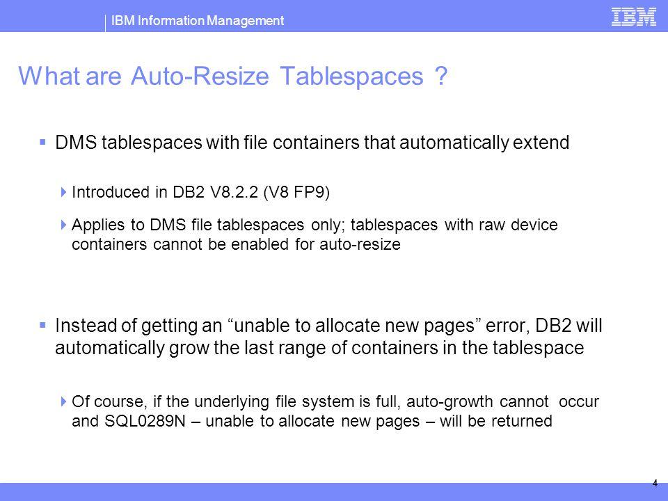 IBM Information Management © 2006 IBM Corporation DB2