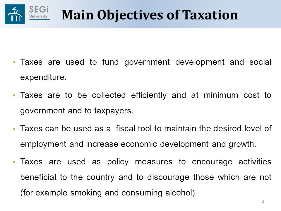 Overview Of Malaysian Taxation By Associate Professor Dr Gholamreza Zandi Ppt Download