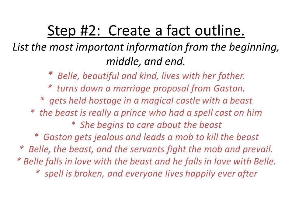 beauty and the beast summary