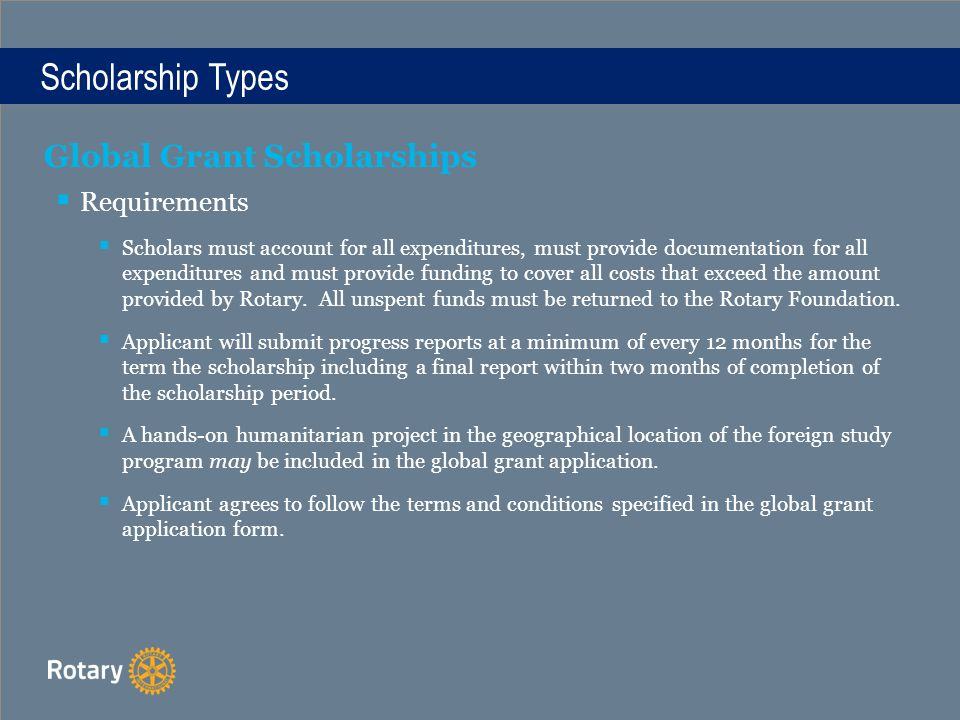 Title District 6040 Scholarship Opportunities What Scholarships Are