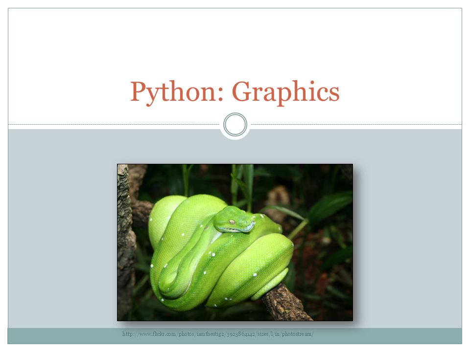 Python: Graphics - ppt download