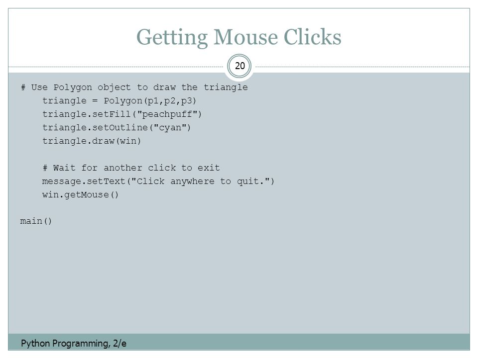 Python: Graphics - ppt download
