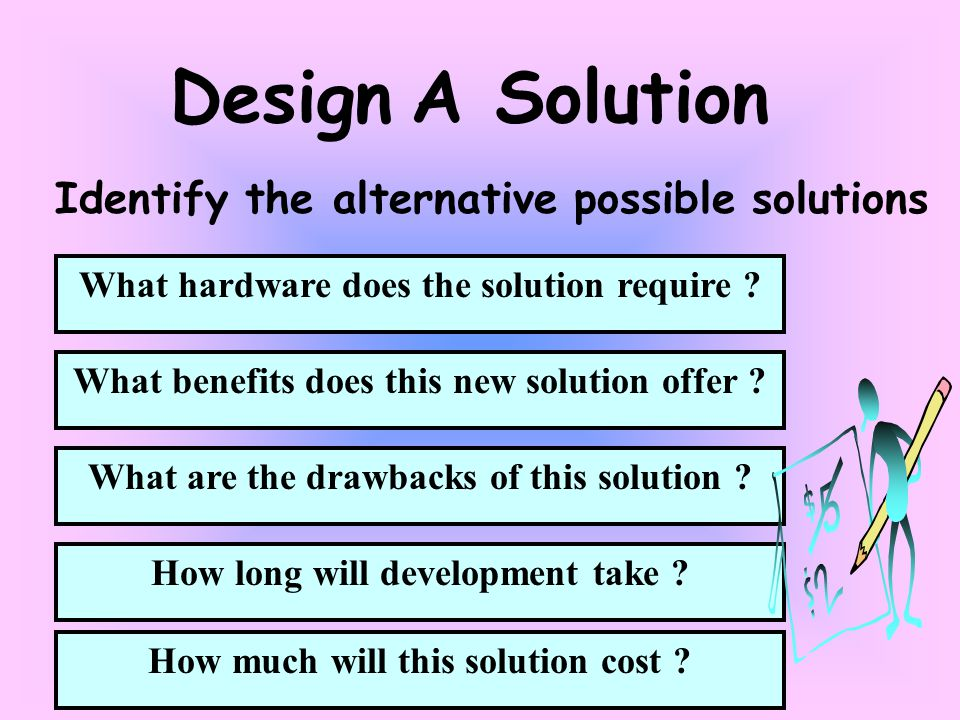 What are the drawbacks of this solution . How long will development take .