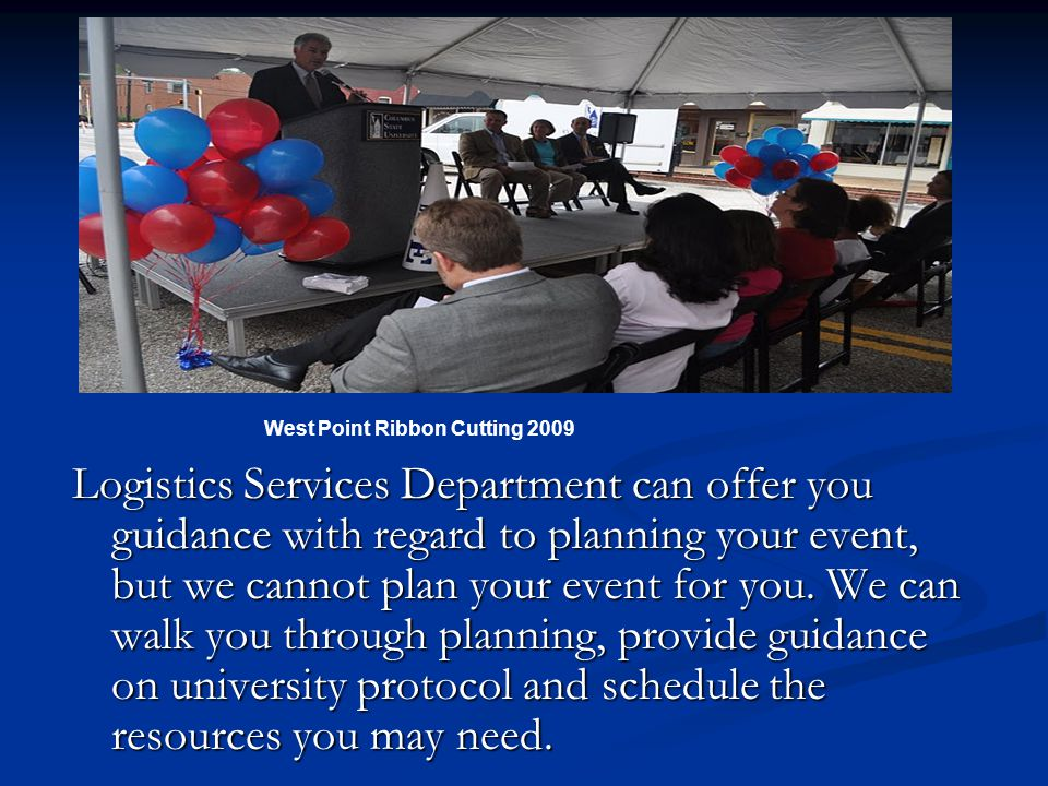 Cougar Scheduler and Logistic Services One-Stop Shop For Services, Equipment & Staff Cougar Kickoff Bike Ride Welcome Back Picnic ppt download - 웹