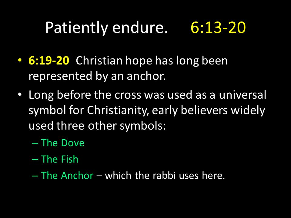 Laying Hold Of Hope Hebrews 6 Hebrews 6introduction What Oxygen Is